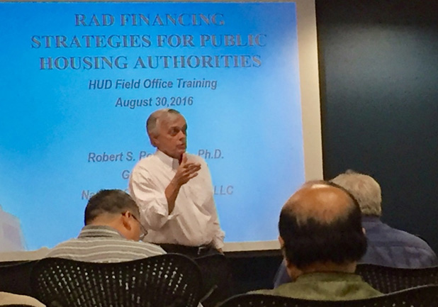 Experienced Financial Advisors to Public Housing Authorities
